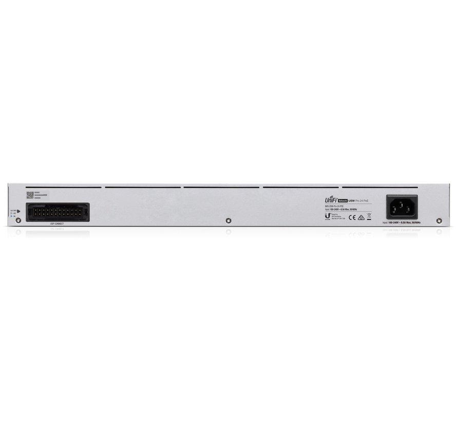 Ubiquiti UniFi Switch PRO Gen 2 - 24 poort, 400W PoE budget