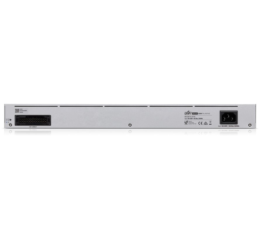 Ubiquiti UniFi Switch PRO Gen 2 - 48 poort, 600W PoE budget