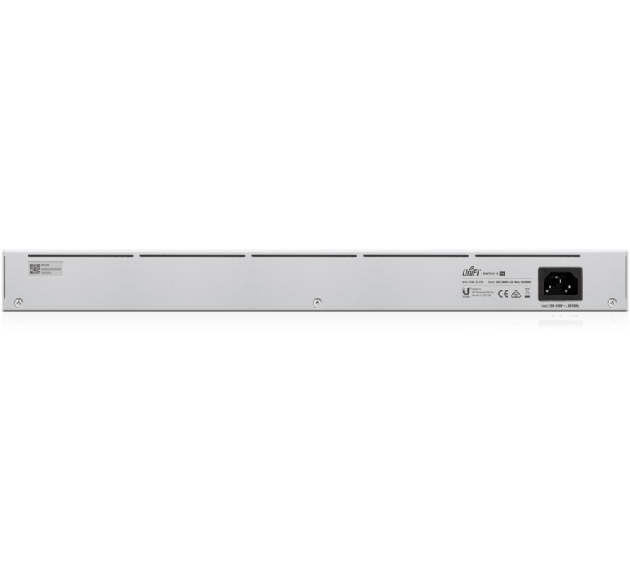 Ubiquiti UniFi Switch Gen 2 - 16 poort, 42W PoE