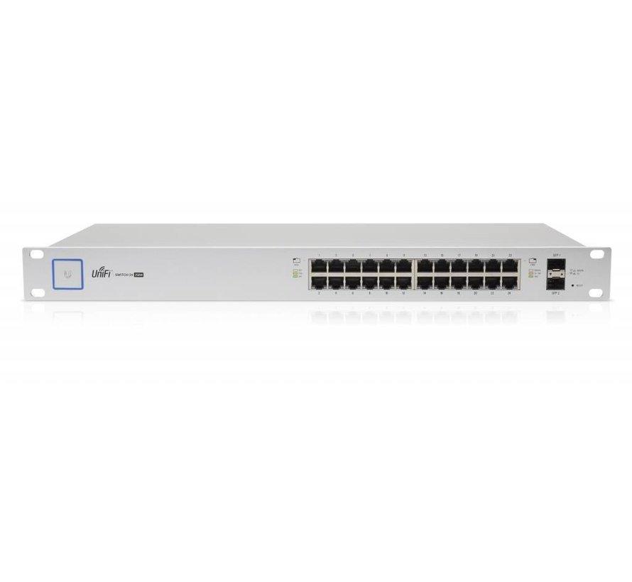 Ubiquiti UniFi Switch - 24 poort, 250W