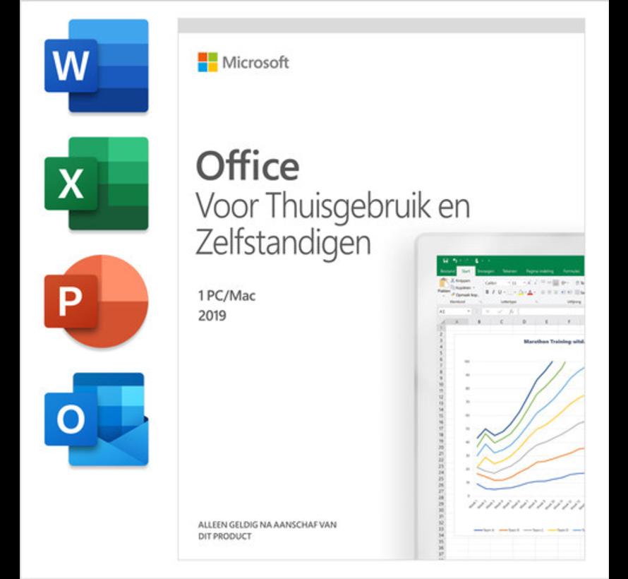 Microsoft Office 2019 Thuisgebruik en Zelfstandigen NL (incl. outlook)