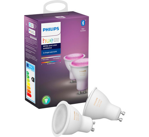Philips Hue GU10 perfect fit (2-pack) - White and Color