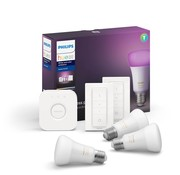 Philips Hue Philips Hue White & Color E27 Starter 3-Pack + 2 dimmers