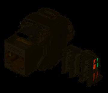 Zybrnet Zybrnet 10G Cat.6A & Cat.7 RJ45 Keystone