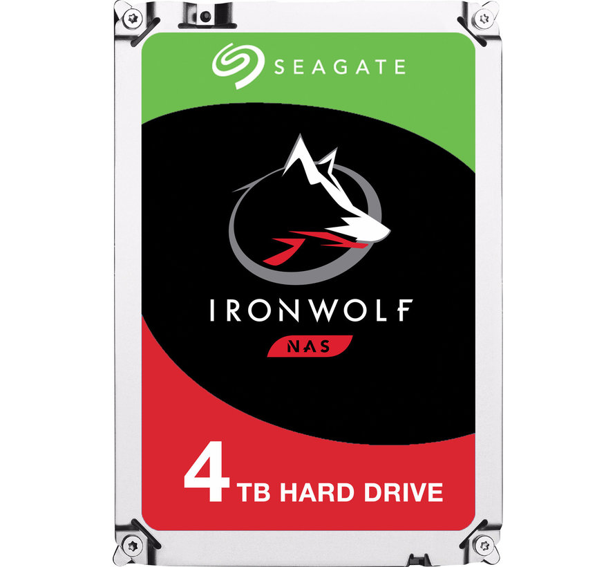 SEAGATE IronWolf NAS HDD 4TB