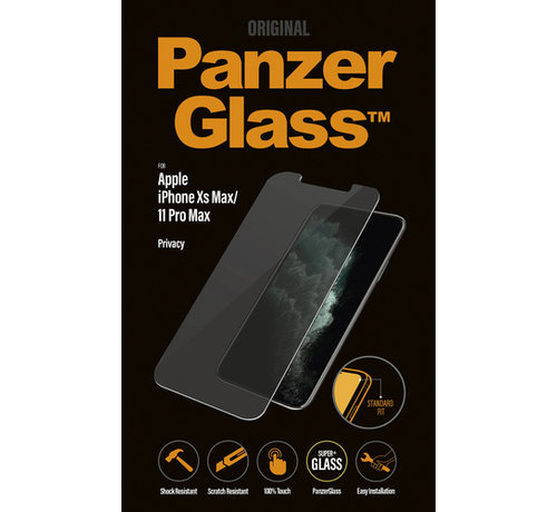 PanzerGlass PanzerGlass iPhone Xs Max/11 Pro Max  - Privacy