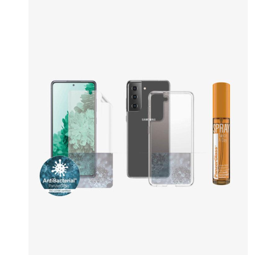 PanzerGlass Samsung Galaxy S21 360° Protection Anti-Bacterial