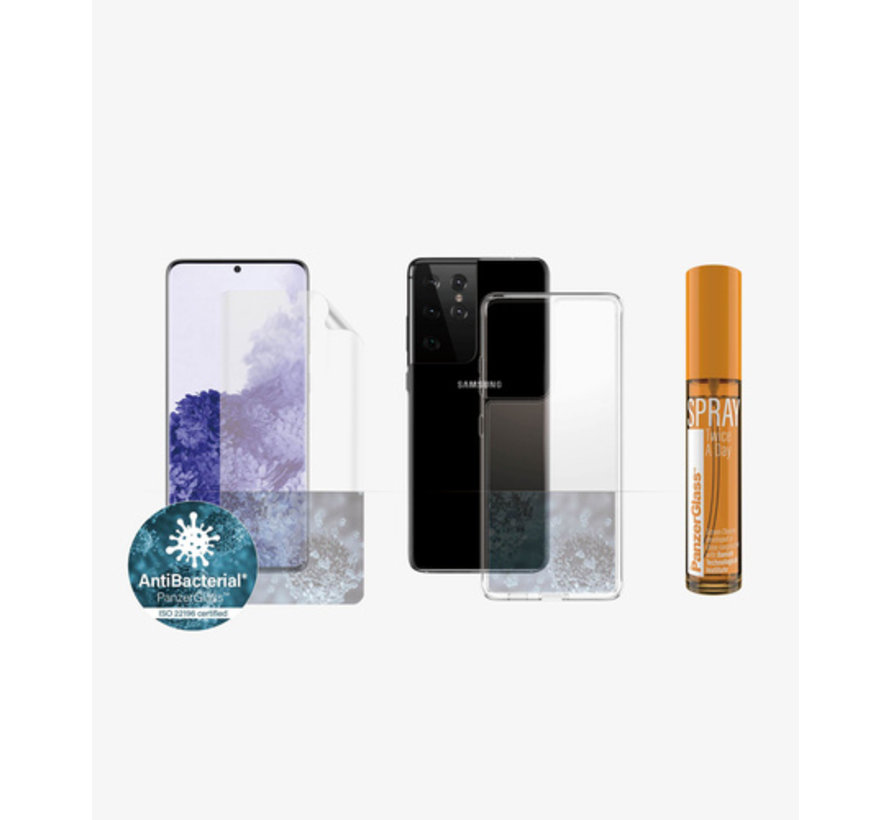 PanzerGlass Samsung Galaxy S21 Ultra 360° Protection Anti-Bacterial