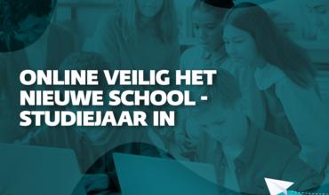 Online veilig het nieuwe school- of studiejaar in 2021