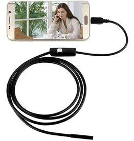 Micro USB Endoscoop LED - Inspectiecamera - Android telefoon - 7mm Camera Diameter