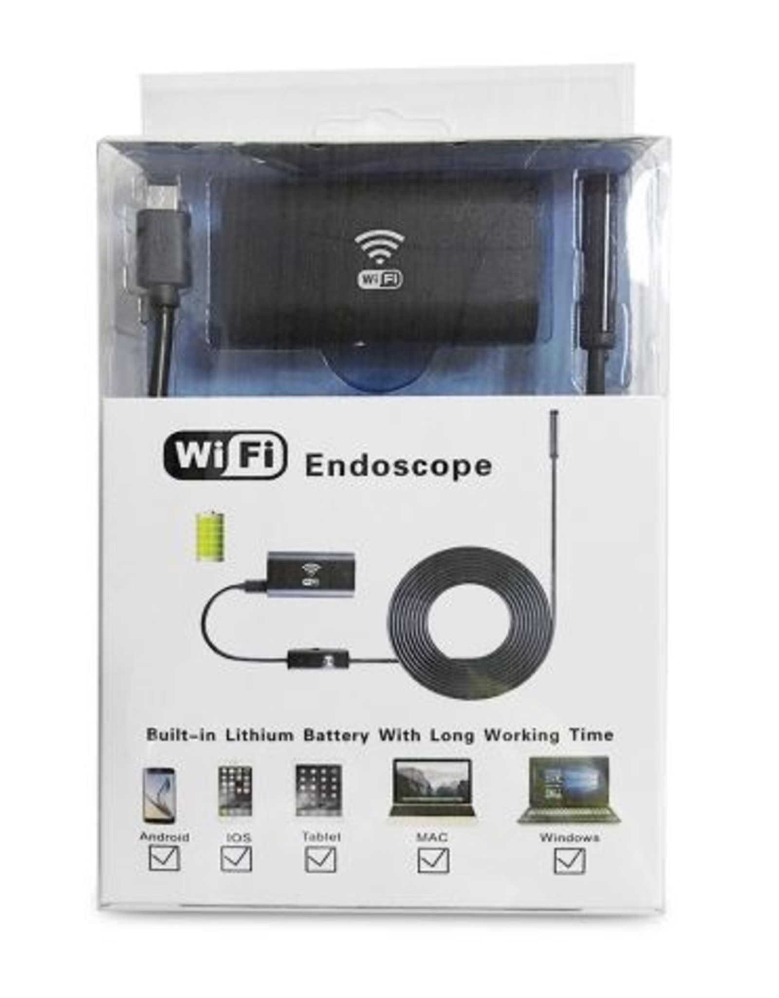 WIFI Endoscoop Voor Android en IOS Telefoon/ Tablets
