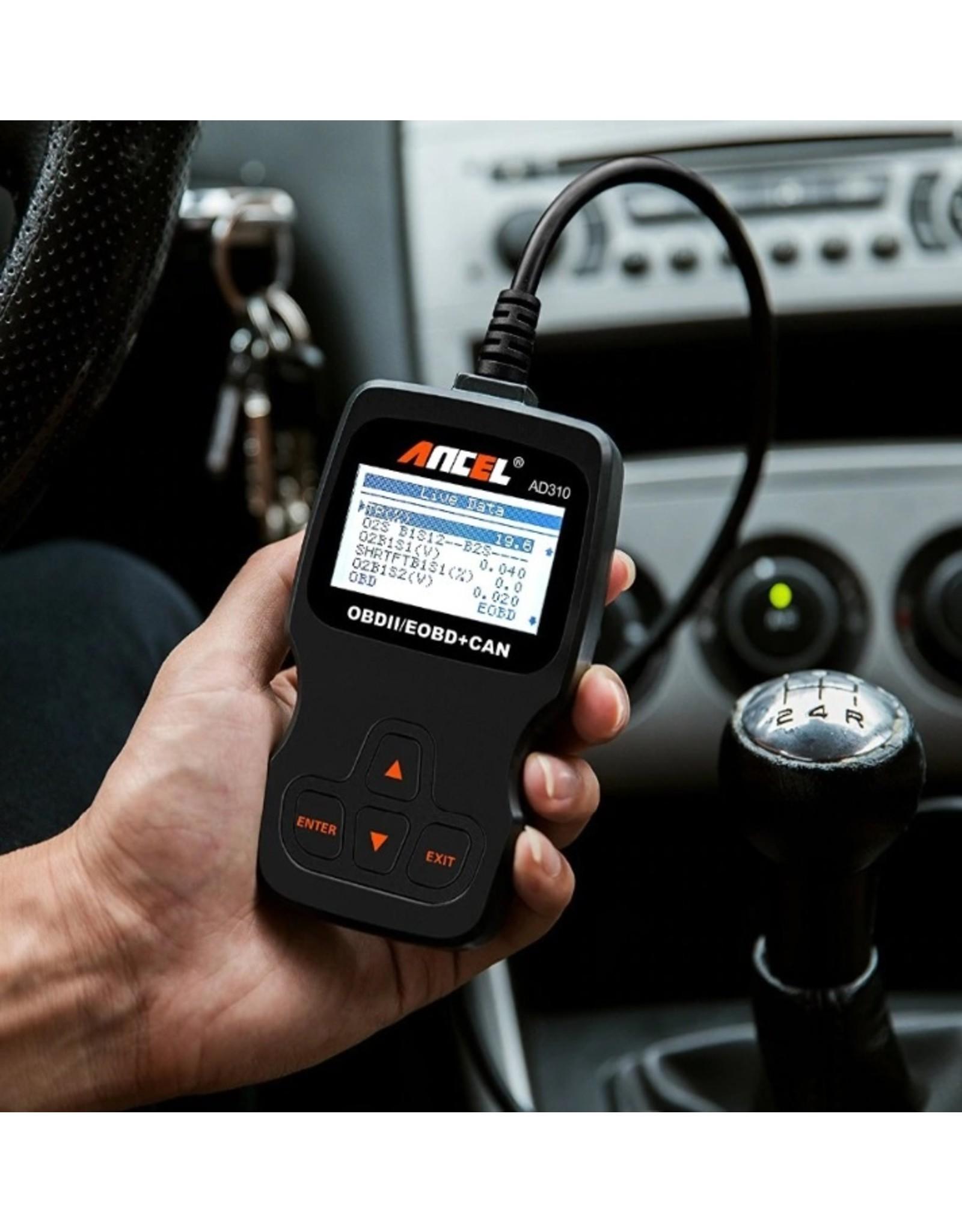 AD310  OBD Scanner - OBD2 - Auto uitlezen - Auto scanner - Diagnose apparatuur voor auto's - Motorstoring
