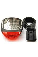 Solar LED Fietslamp - Achterlamp