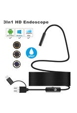 3 in 1 Type C Endoscoop Android