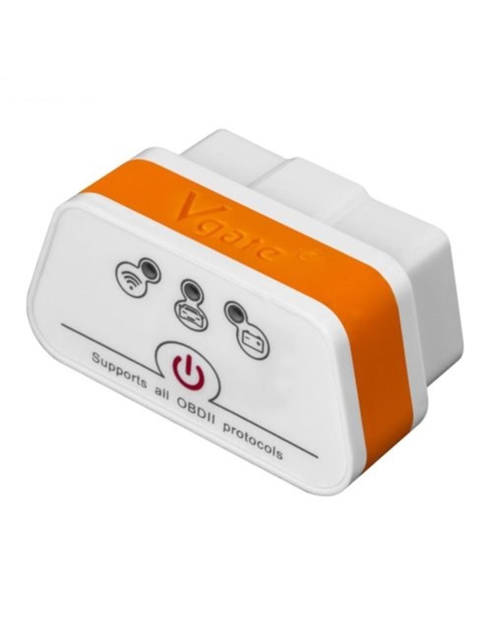 Merkloos Vgate iCar2 - ELM327 – OBD2 - WIFI - Scan Diagnose Tool (GESCHIKT VOOR IPHONE/ IOS SYSTEMEN)