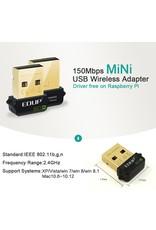 Merkloos EDUP EP-N8508GS RTL8188CUS chipset 150 Mbps WiFi USB netwerk 802.11n / g / b LAN-adapter