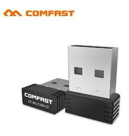 Merkloos Comfast WiFi-ontvanger   WiFi Dongle   Mini WiFi USB Adapter