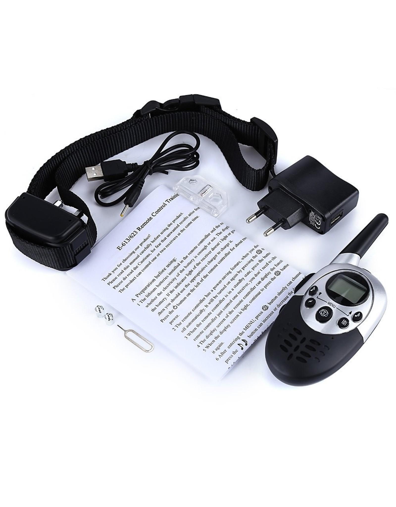 Trainingsband – Blafband - trainingsband voor u hond met afstandsbediening - Halsomtrek van 42 tot 60cm