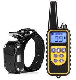Merkloos Trainingshalsband - trainingsband - teletac 800m oplaadbaar – voor 1 hond