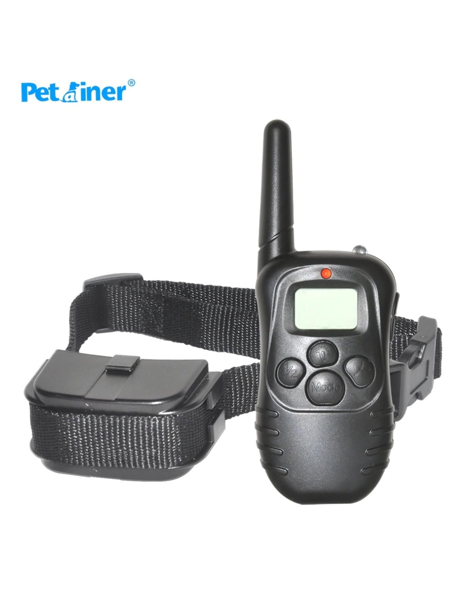 Trainingshalsband - trainingsband voor u hond met afstandsbediening - Trainingsband 998D WT717 - 100 levels - 300 meter - Halsband 25 tot 58 cm