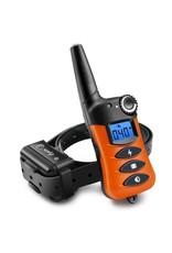 Merkloos Trainingshalsband - trainingsband - teletac 800m oplaadbaar - Voor 1 hond