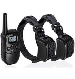 Trainingshalsband - trainingsband voor 2 honden - Oplaadbaar