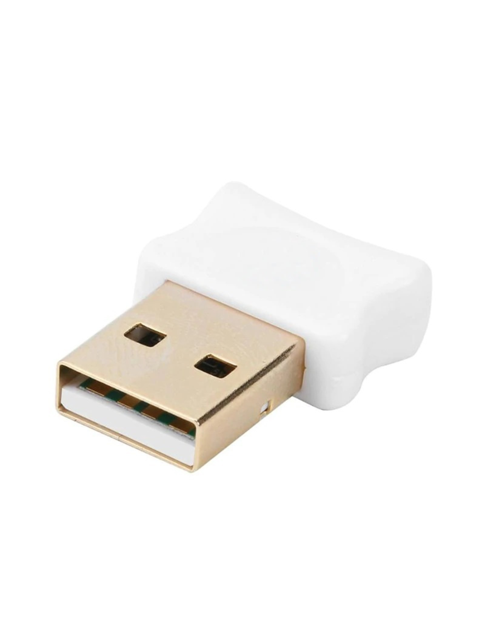 Bluetooth CSR 5.0 Dongle - Mini Bluetooth 5.0 USB Adapter – Dongle - Bluetooth adapter - draadloze dongle - verbind meerdere bluetooth apparaten – Kleur: Wit