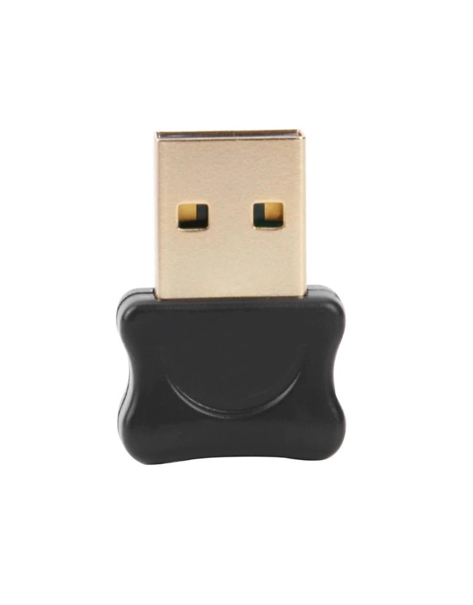 Bluetooth CSR 5.0 Dongle - Mini Bluetooth 5.0 USB Adapter – Dongle - Bluetooth adapter - draadloze dongle - verbind meerdere bluetooth apparaten – Kleur: Zwart