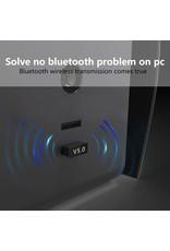 1 STUKS Bluetooth CSR 5.0 Dongle - Mini Bluetooth 5.0 USB Adapter – Dongle - Bluetooth adapter - draadloze dongle - verbind meerdere bluetooth apparaten