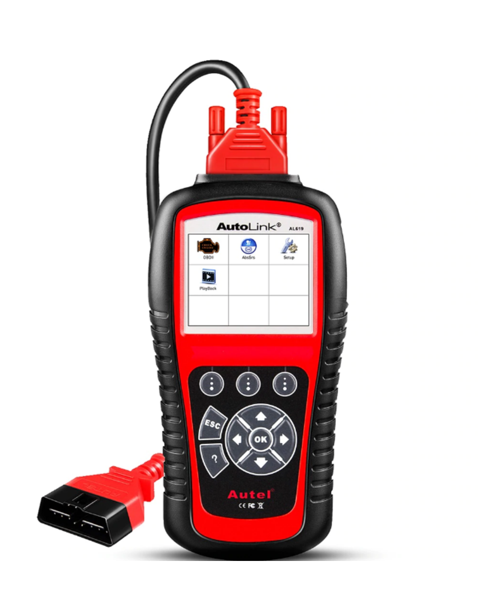 OBD-scanner - OBD2 – OBDII – Diagnose scanner - Diagnosecomputer - Autel AL619