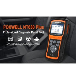 Foxwell NT630 Plus Universele OBD2, ABS en Airbag Tool – Bluetooth scanner - OBD2 scanner - diagnose gereedschap - tool