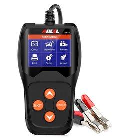 Merkloos ANCEL BA201 12 V 100 – 2000 CCA accutester voor autoaccu, digitale analyseapparaat, autotestgereedschap, Battery Load Tester, Automotive Starter Cranking