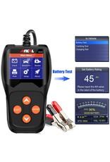 ANCEL BA201 12 V 100 – 2000 CCA accutester voor autoaccu, digitale analyseapparaat, autotestgereedschap, Battery Load Tester, Automotive Starter Cranking