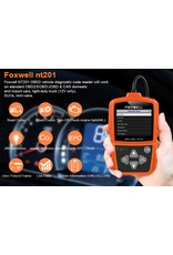 Foxwell NT201 OBD2 ODB2 Scanner Diagnostic Auto OBDII Engine Fault Code Reader Scan Tools PK ELM327 OBD 2 Auto Diagnose Scanner
