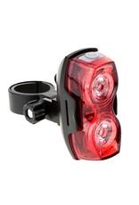 Fietslamp - LED verlichting fiets - Achterlicht fiets - Afneembare fietslamp - Fietsverlichting (Rood)