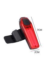 Led Fietslamp - USB oplaadbaar - Oplaadbaar via USB - voorlamp of achterlamp