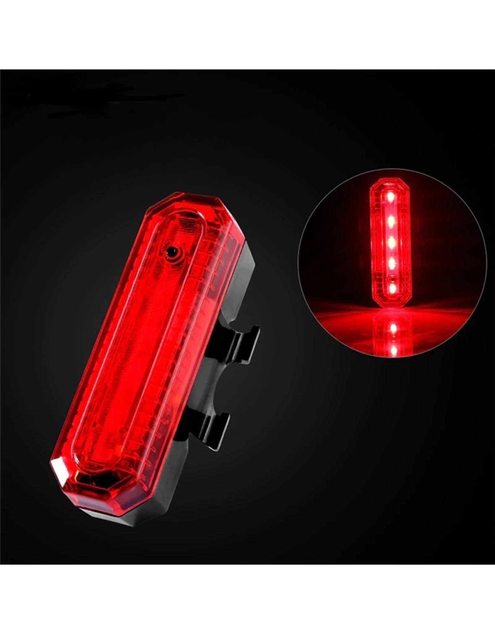 Led Fietslamp – Voorlamp of Achterlamp - USB oplaadbaar