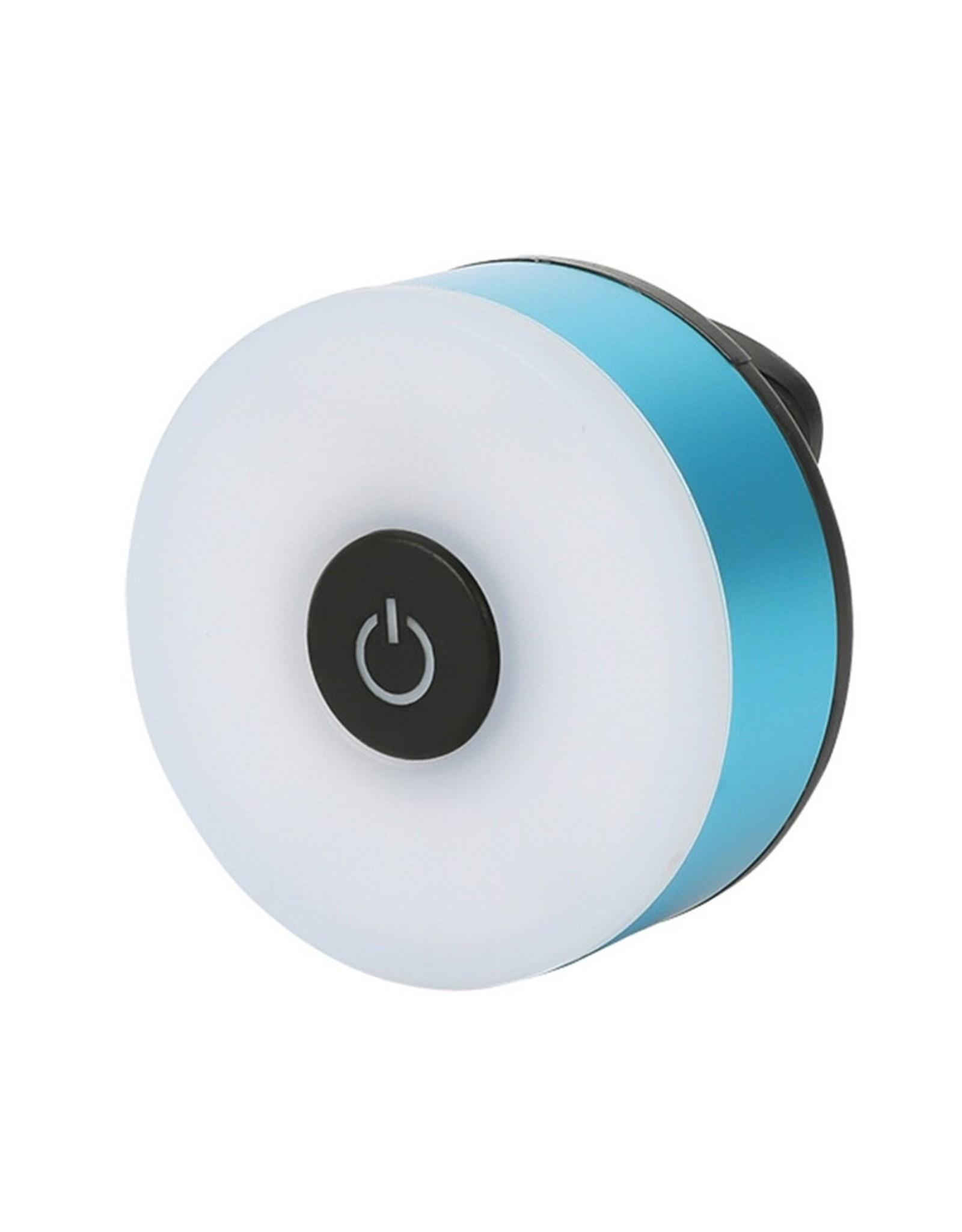 Led Fietslamp - Achterlicht - USB oplaadbaar – Rood achterlicht - USB oplaadbaar – Kleur behuizing: Geel, Blauw, Grijs, Rood of Zwart