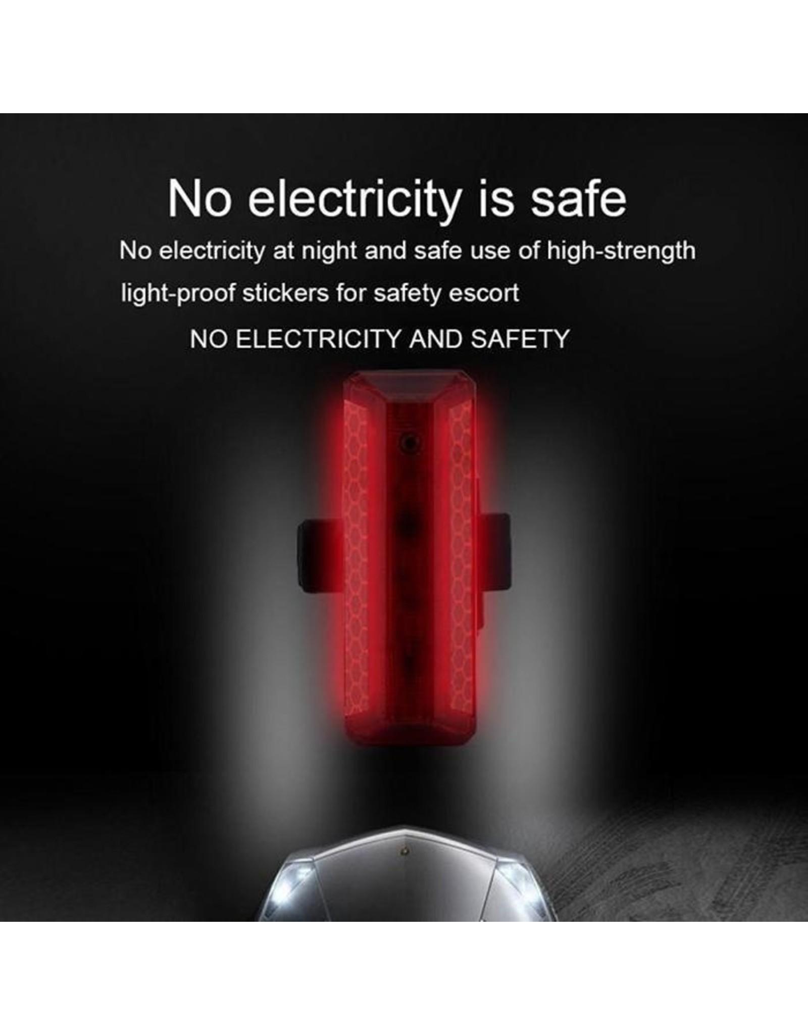 Led Fietslamp - Achterlicht - USB oplaadbaar