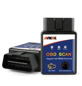 Merkloos ANCEL - ELM327 Auto Scanner - OBD2 - Zelf storingen uitlezen en verwijderen - (NIET GESCHIKT VOOR IPHONE/ IOS SYSTEMEN)