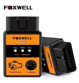 Merkloos FOXWELL FW102 - V1.5 ELM327 codelezer – Bluetooth scanner - OBD2 scanner - diagnose gereedschap - tool