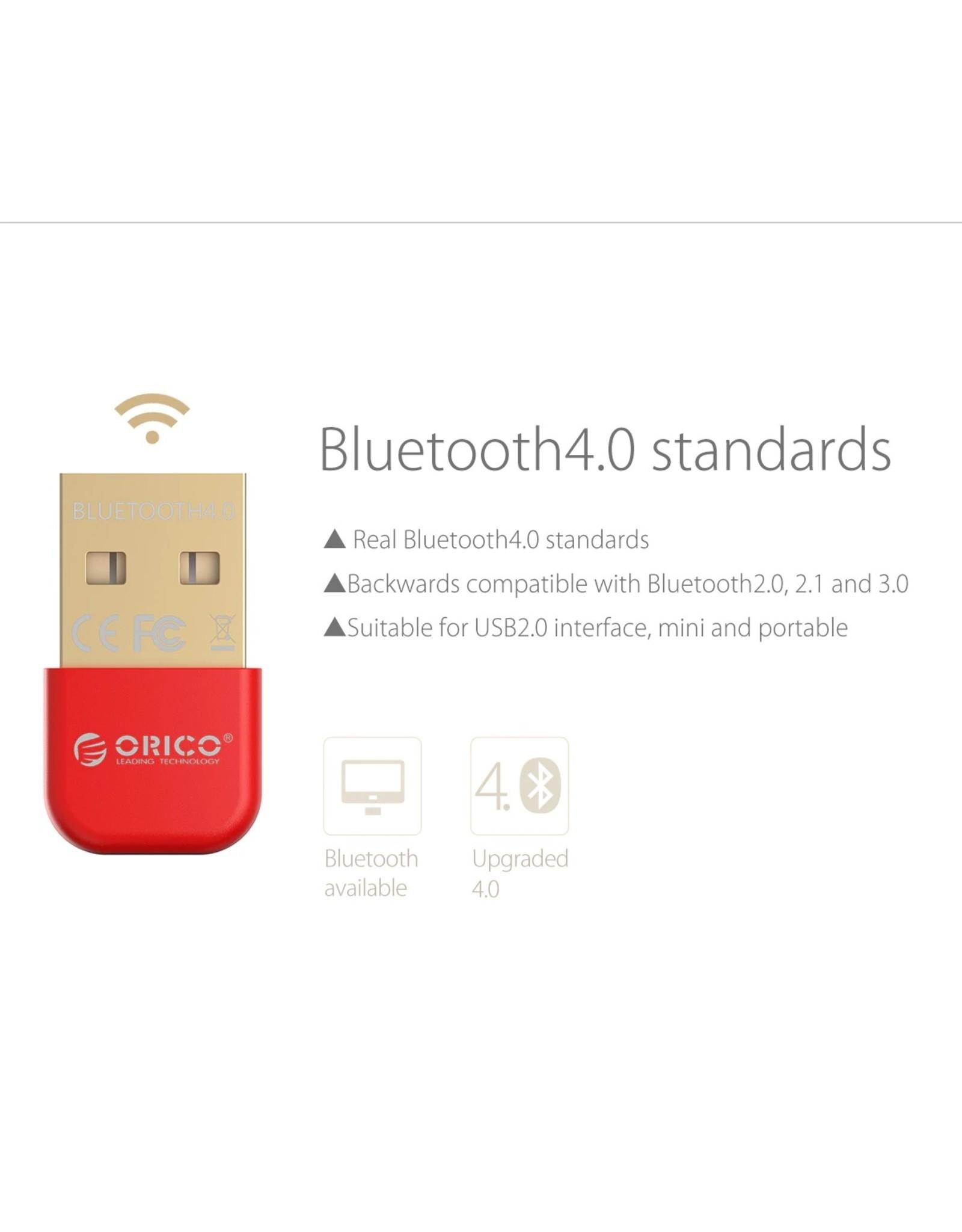Orico - USB Bluetooth 4.0 Adapter - 20m