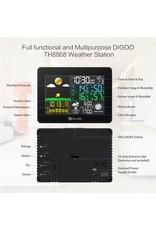 Digitaal Weerstation - Weerstation - Draadloos Digitaal Weerstation - Digoo DG-TH8868