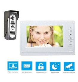 Merkloos Deurintercom -7'' kleurenmonitor en foto/video camera