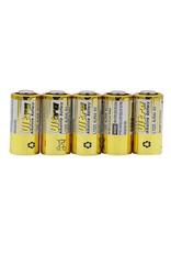 5 stuks 4LR44 - 476A - PX28A - Batterijen - Fotobatterij - 6 Volt