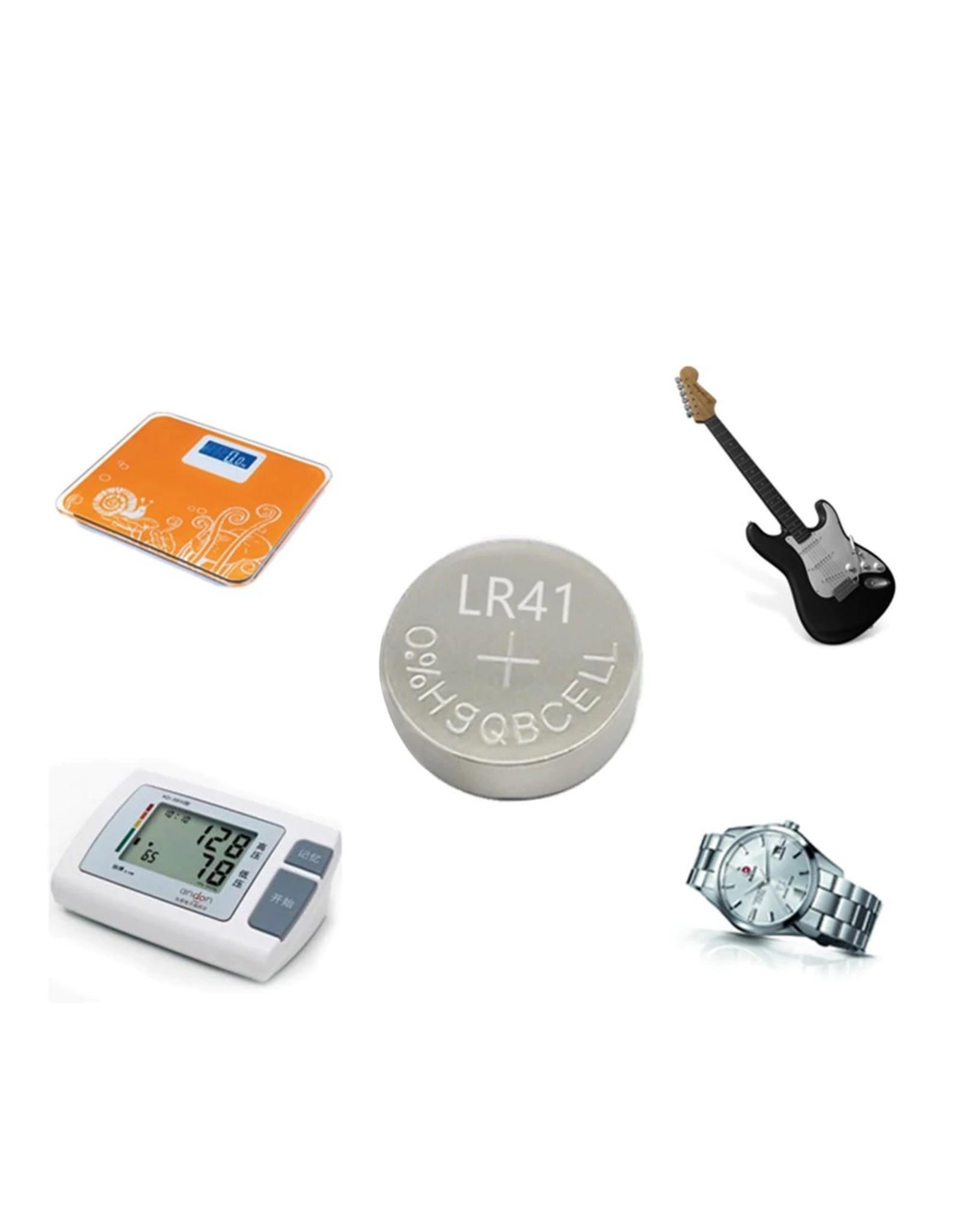 LR41 AG3 SR41W 392192 GP192A LR736 Button Watch Battery Cell Cion-batterijen voor zaklampen, speelgoed, horloges