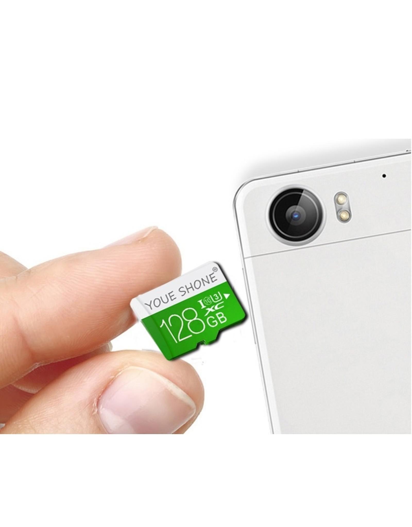 Merkloos Youe Shone MicroSD SDCC - Klasse 10