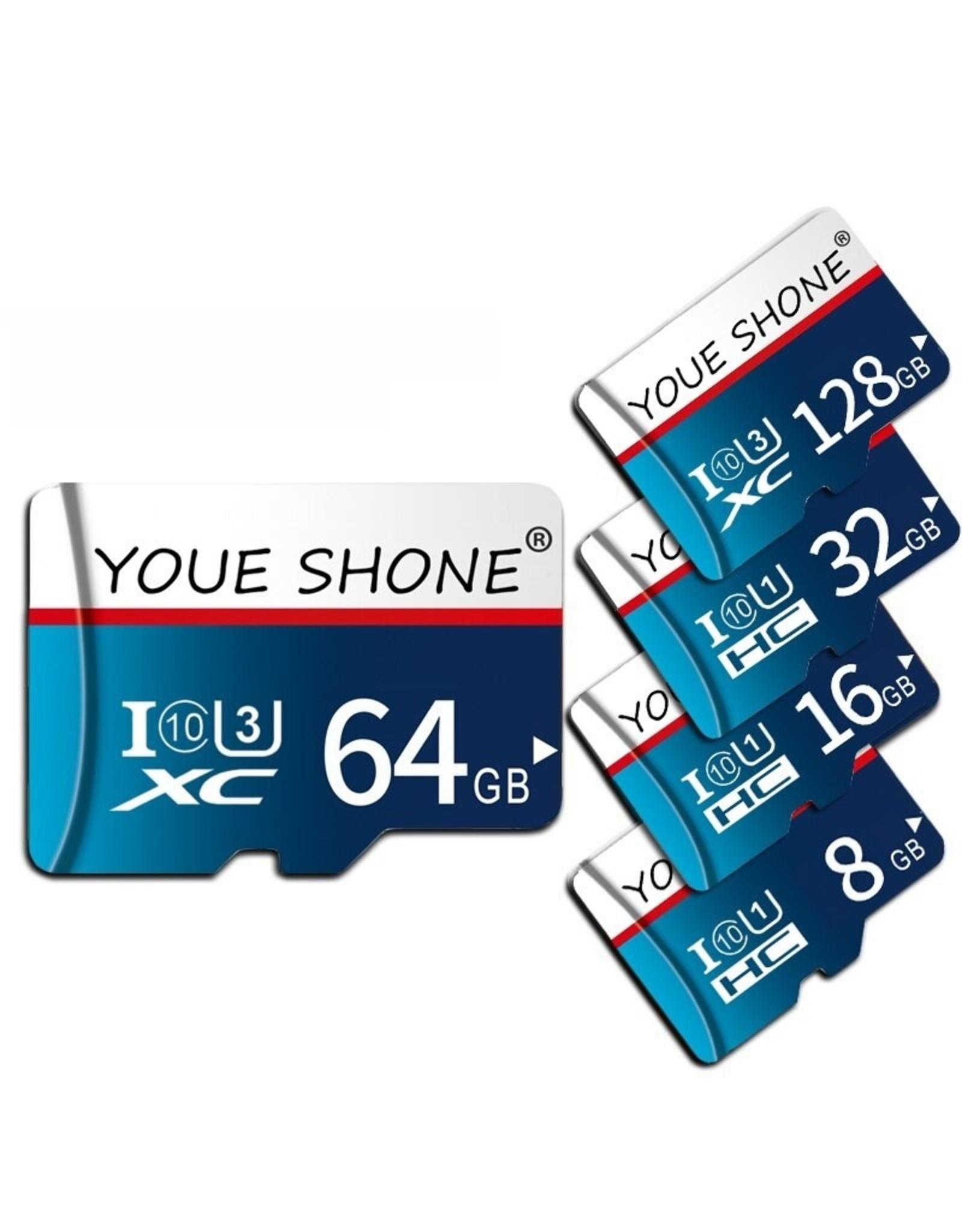 Micro sd-kaart Hoge Snelheid 8G 16G 32G Class-10 / SDHC Geheugen sd-kaart 128G 64G C10 / SDXC TF / Micro Card cartao de memoria
