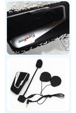 Motor headset intercom multifunctionele waterdichte bluetooth T9S-V3 -helm interphone max 1300 meter