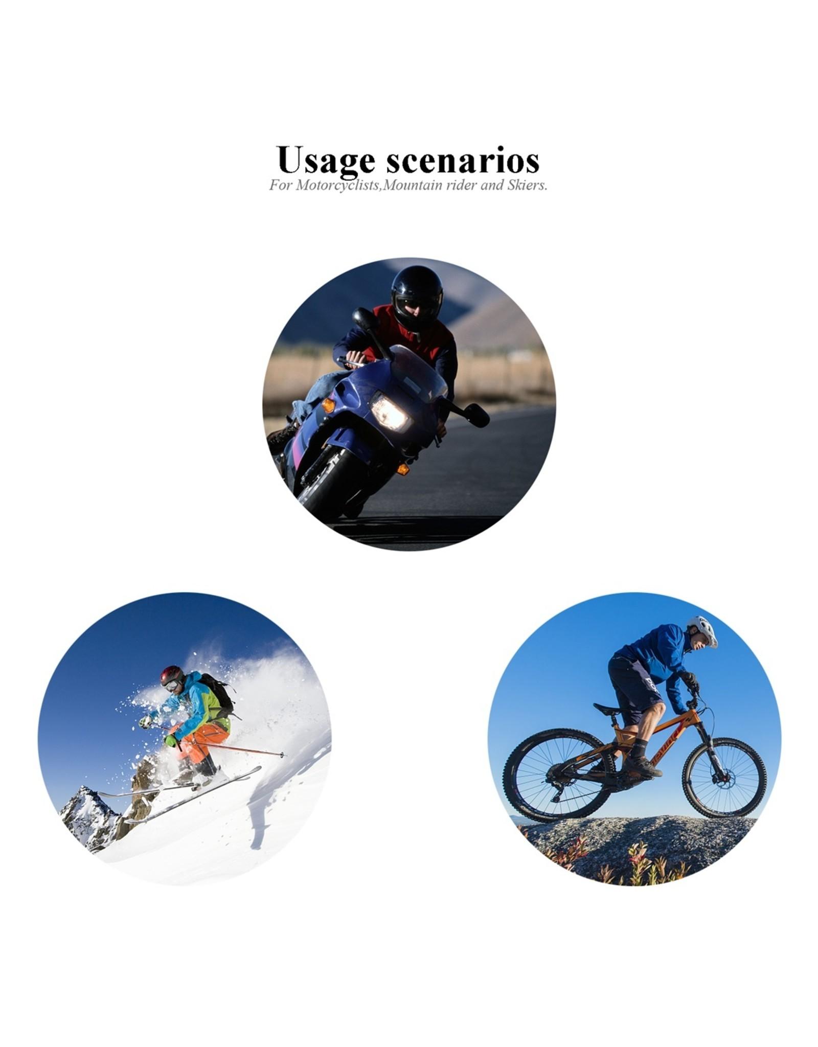 WT003 Bluetooth-communicatiesysteem voor motorfietsen.